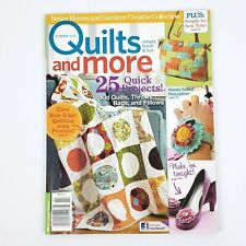 Better Homes & Gardens Quilts and More Magazine Summer 2010 25 Quick Projects