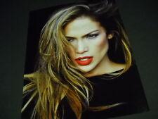Jennifer Lopez sexy headshot photo image Promo Display Ad from 2014 mint cond