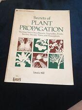 LEWIS HILL, SECRETS OF PLANT PROPAGATION. 0882663704