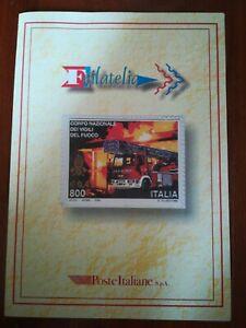 Folder vigili del fuoco ufficiale 1999 raro