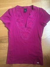 Haut Top T-shirt ESPRIT Rose Fuschia T 36 T S