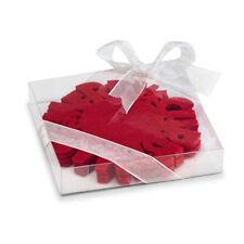 Posavasos de color principal rojo