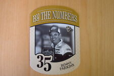 2010 Press Pass By The Numbers #BN35 Benny Parsons Card