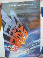 "1986 Star Trek Iv The Voyage Home Mini Poster 13.5"" X 20"" Error Release Date"