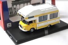 1:43 IST Models Barkas B1000 Wohnmobil 1973 yellow/ white