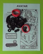 Stern Avatar pinball rubber ring kit