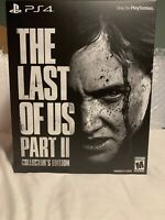 The Last of Us Part II, Collector's Edition PlayStation 4 In Hand Free Shipping