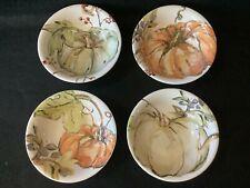 Pottery Barn Harvest Pumpkin Bowls, 4