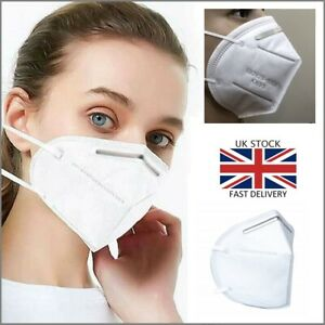 Face Mask Three Layer Cotton Face Mask Protection Cover UK Seller