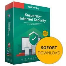 Kaspersky Internet Security 2021 I 1 Gerät 1 Jahr I NEU I Download