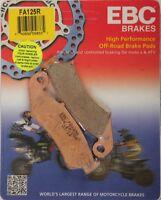 EBC FA125R R Series Sintered Brake Pads FRONT Honda CR125R CR250R CR500R 87-94