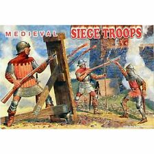 Orion 72019 Medieval Siege Troops 1/72 Plastic scale model kit