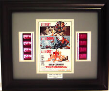 007 THUNDERBALL FRAMED FILM CELL JAMES BOND