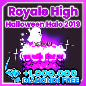 ROBLOX ROYALE HIGH - HALLOWEEN HALO 2019 👻 RH, DIAMONDS (Read Description)