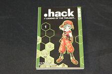 2003 Hack Legend of the Twilight Tokyopop Manga Vol 1 Rei Izumi Tatsuya Hamazaki