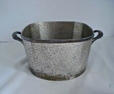Homan Silver Ice Bucket Silverplate on Nickel Silver 0946 W M Mounts 03173