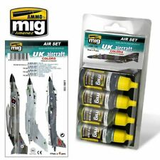 Ammo by Mig UK Aircraft Set From 1950s To Present