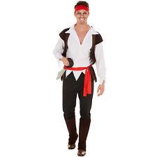Herrenkostüm Pirat inkl. Kopftuch Captain Seeräuber Fasnacht Kostüm Karneval