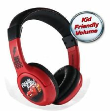 Disney Cars Stereo Wired Headphones Headset Adjustable Earphone
