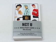 NCT U Photo Mini Post Card 56 Sheets KPOP JAEHYUN TAEIL DOYOUNG TAEYONG TEN MARK