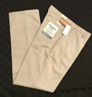 DOCKERS Signature Khaki Pants Best Pressed Classic Fit Stretch Cloud Beige 36x30