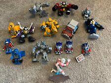 Transformers Robot Heroes/Kre-o Etc no transformar Lote de 15