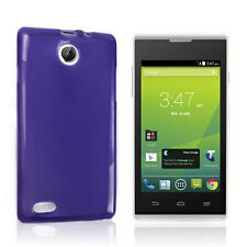 Telstra Tempo T815 TPU Gel Case Cover - Purple