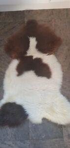 Sheepskin Rug/Decoration Fluffy Soft,100% Natural, Various Sizes Colours Luxury