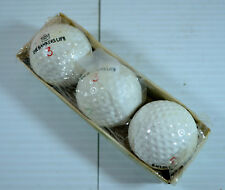 Vintage the Bankers Life 3 Golf Ball (3 Balls) NIB
