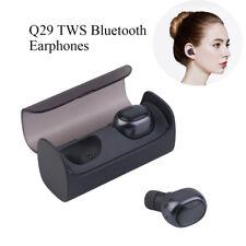 QCY Q29Casque sans fil Bluetooth écouteur Stéréo des écouteurs Pour iPhone Noir