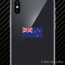 (2x) New Zealand Flag Cell Phone Sticker Mobile kiwi