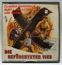 REVUE Film 8618, Super 8, S/W, Ton, 110 m, Die Gefürchteten Vier, Lee Marvin.