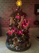 Danbury Mint Labrador Retriever Lighted Cristmas Tree