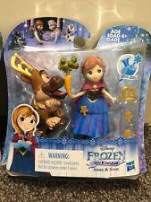 New Hasbro Disney Frozen Little Kingdom Anna, Elsa Trolls Grand Pabbie Figurines