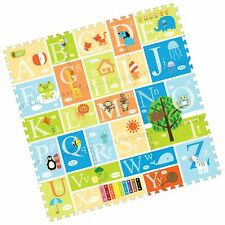 Creative Baby 9 Piece Interactive Playmat i-Mat, Alphabet Multi