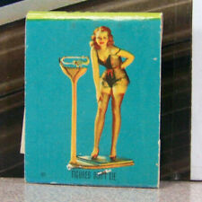 Vintage Matchbook M7 Washington Grand Coulee Swanee Rooms Pin Up Girl Figures