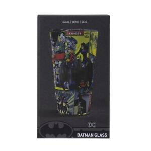 Batman Comic Book Drinking Glass Tumbler DC Comics 400ml