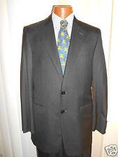 HICKEY FREEMAN DARK GRAY Suit LORO PIANA SIZE 40 L  IN EXCELLENT CONDITION..!!