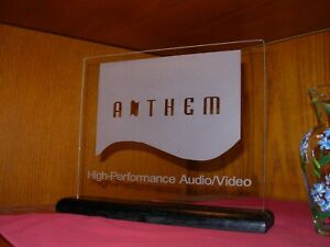 ANTHEM HOME THEATER ETCHED GLASS SIGN