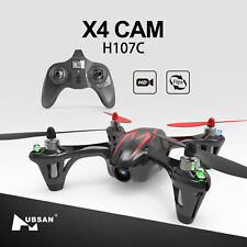 Hubsan H107C X4 2.4G Mini Pocket RC Quadcopter Drone W/ 480P HD Camera LED RTF
