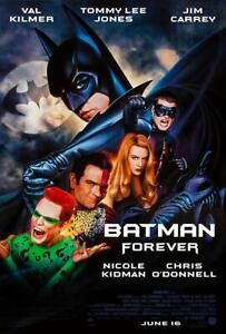 """35mm Feature Film  """"BATMAN FOREVER""""  1995  In time for Halloween"""