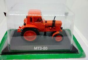 Tractor MTZ-80 1974 Hachette. Diecast Metal model Scale 1:43. NEW