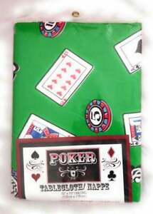 Poker Tablecloth/ Nappe