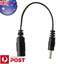 18cm 3.5 x 1.3 mm Male Plug to 5.5 x 2.1mm female socket DC Power Adapter Z347