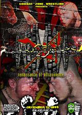 CZW Wrestling: Cage of Death 11 DVD, Combat Zone, Eddie Kingston, Jon Moxley