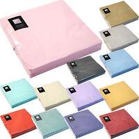 3 Ply Paper Napkins (33cm x 33cm) Square Party Serviettes Tableware FREE P+P!!