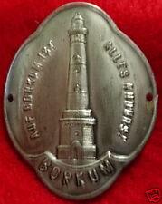 Borkum medallion badge shield stocknagel G4835