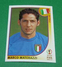 N°463 MATERAZZI ITALIA ITALY PANINI FOOTBALL JAPAN KOREA 2002 COUPE MONDE FIFA
