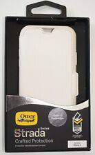 Genuine OtterBox Strada Onyx Folio Flip Case Cover for Apple iPhone X / XS Beige