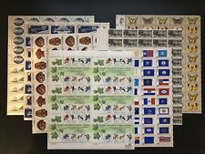 350 Us Mint Stamps 7 Sheets #1703 1569-70 1706-09 1633-82 1757 1712-15 1732-33